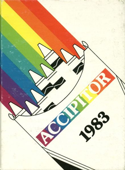 1983 Alta High School Yearbook Cover