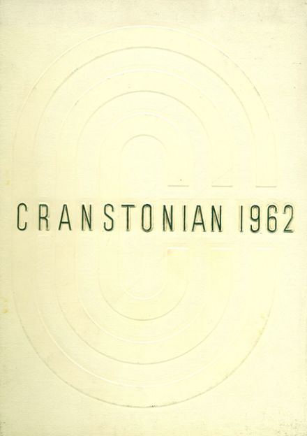 1962 Cranston High School East Yearbook Cover