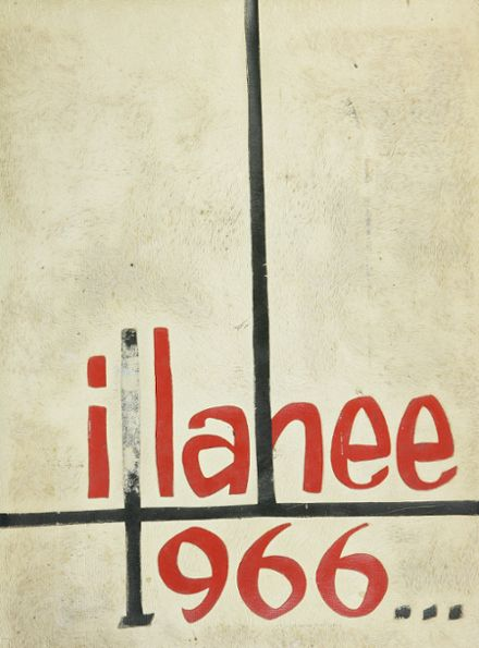 1966 Renton High School Yearbook Cover