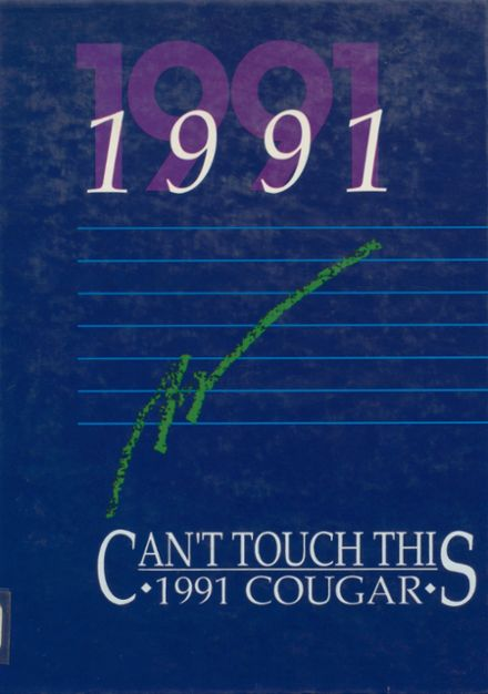 1991 Aline-Cleo Springs High School Yearbook Cover