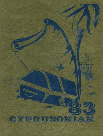 1983 Cyprus High School Yearbook Cover