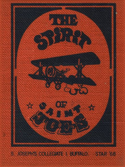 1968 St. Joseph's Collegiate Institute Yearbook Cover
