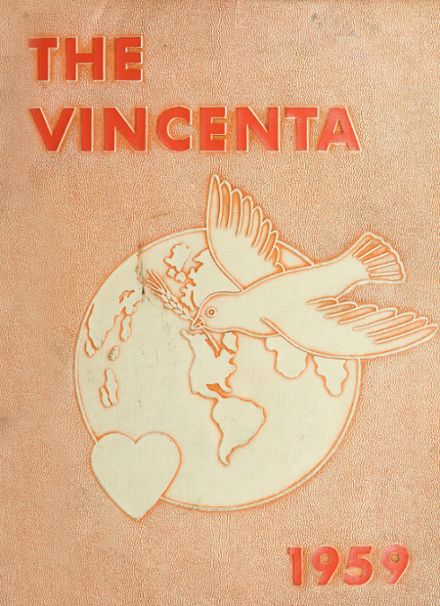 1959 St. Vincent's High School Yearbook Cover