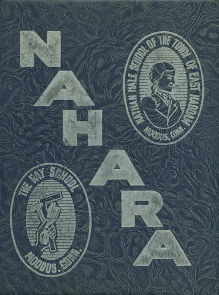 1951 Nathan Hale-Ray High School Yearbook Cover