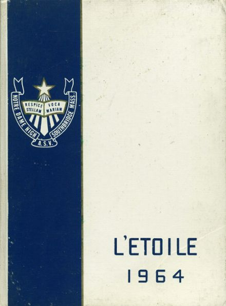 1964 Notre Dame High School Yearbook Cover