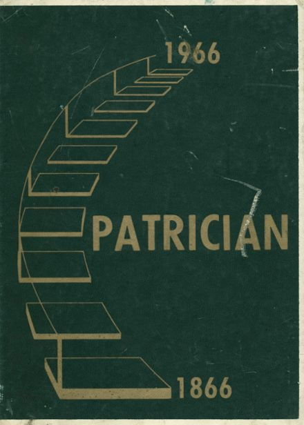 1966 St. Patrick's High School Yearbook Cover