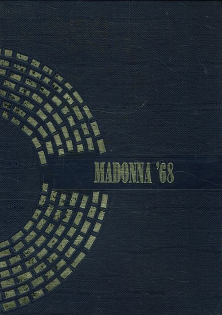 1968 St. Mary's Academy Yearbook Cover