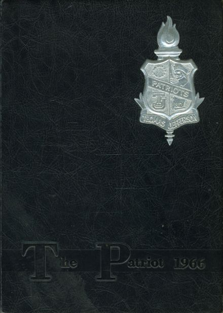 1966 Thomas Jefferson High School Yearbook Cover