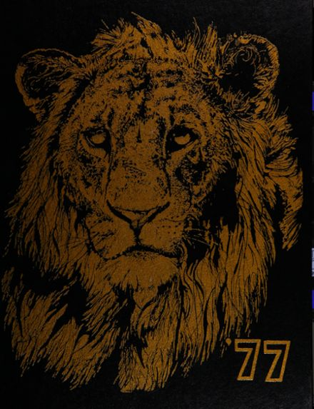 1977 Roy High School Yearbook Cover