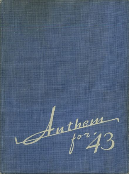 1943 Brentwood High School Yearbook Cover