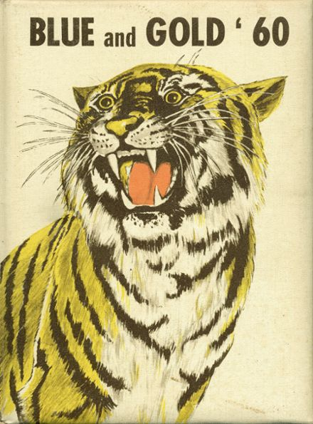 1960 Pryor High School Yearbook Cover