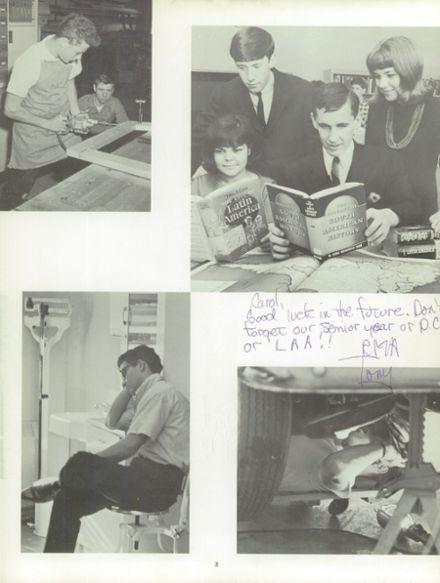 1967 Hamilton East-Steinert High School Yearbook Page 7