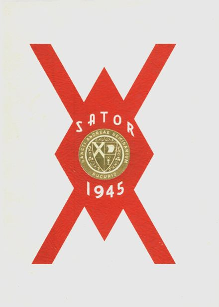 1945 St. Andrew's Seminary Yearbook Cover