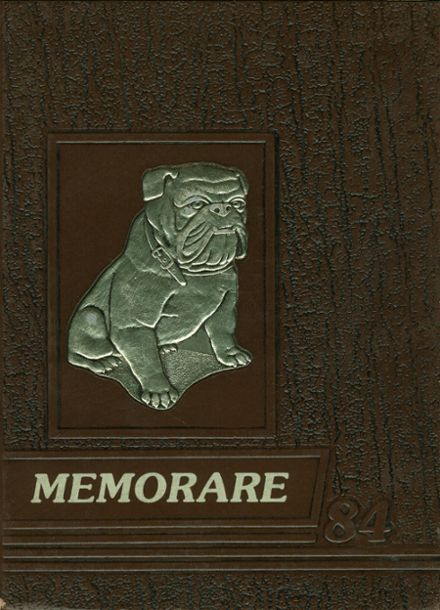 1984 St. Bernard's High School Yearbook Cover