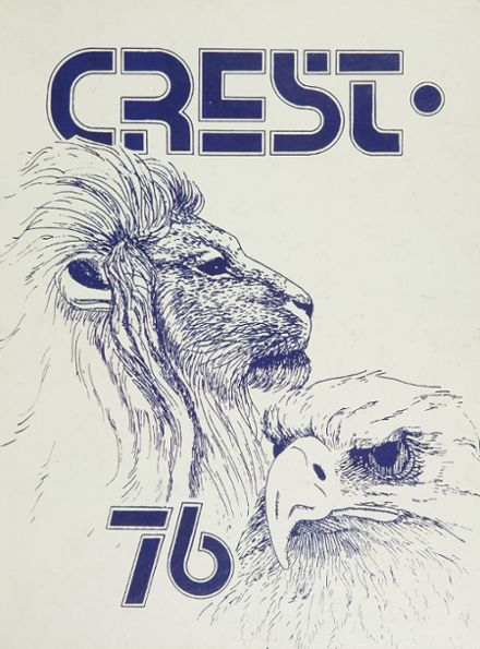1976 Penncrest High School Yearbook Cover