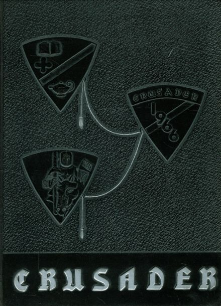 1966 St. Joseph's High School Yearbook Cover