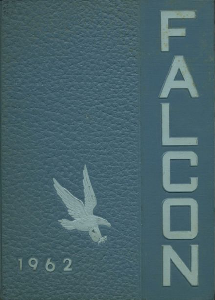 1962 York High School Yearbook Cover