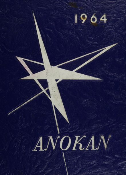 1964 Anoka High School Yearbook Cover