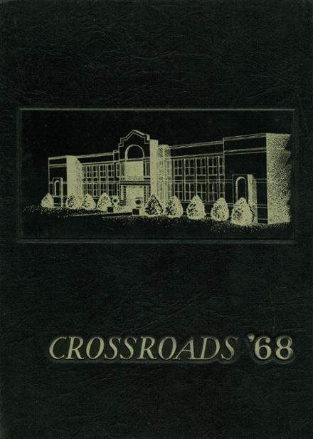 1968 Whitehaven High School Yearbook Cover