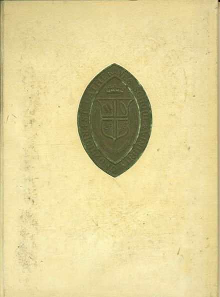 1970 St. Catherine's School Yearbook Cover
