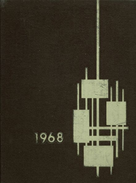 1968 Bellflower High School Yearbook Cover