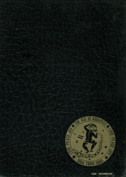 1970 Crystal Lake Central High School Yearbook Cover