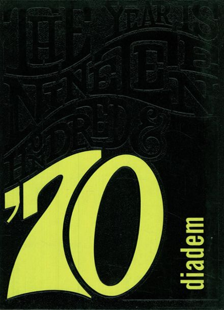 1970 King's Preparatory School Yearbook Cover