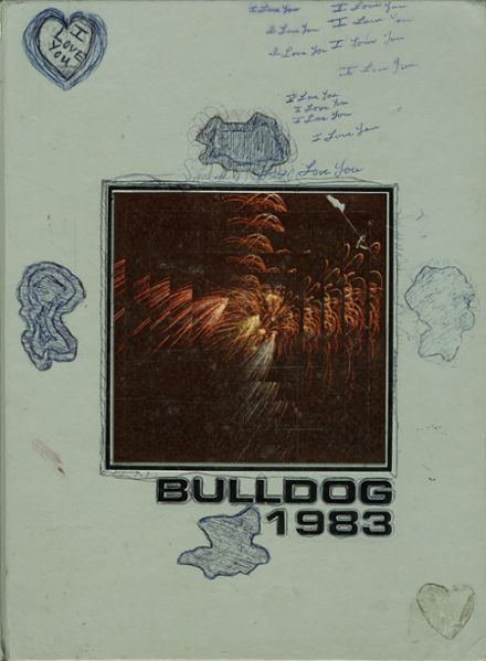 1983 Bowie High School Yearbook Cover