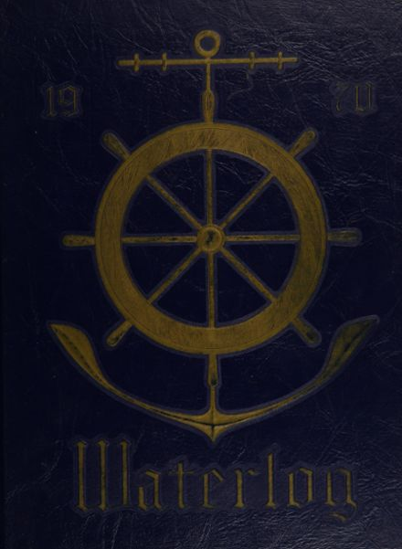 1970 Waterford Township High School Yearbook Cover
