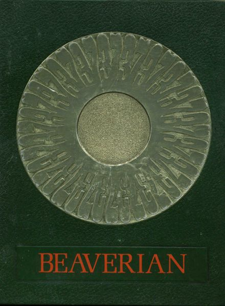 1973 Beaver River Central High School Yearbook Cover