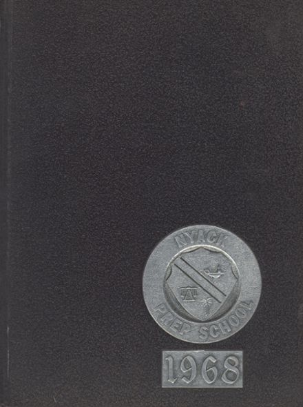 1968 Nyack Preparatory Yearbook Cover