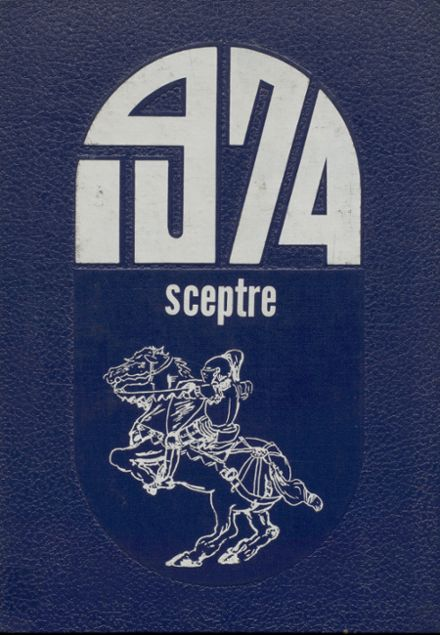 1974 King's Garden High School Yearbook Cover