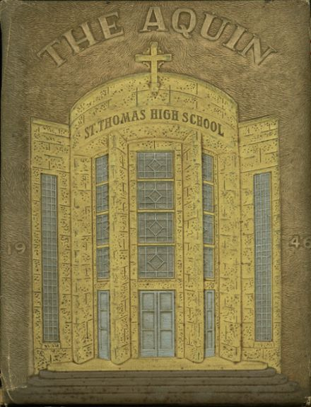 1946 St. Thomas High School Yearbook Cover