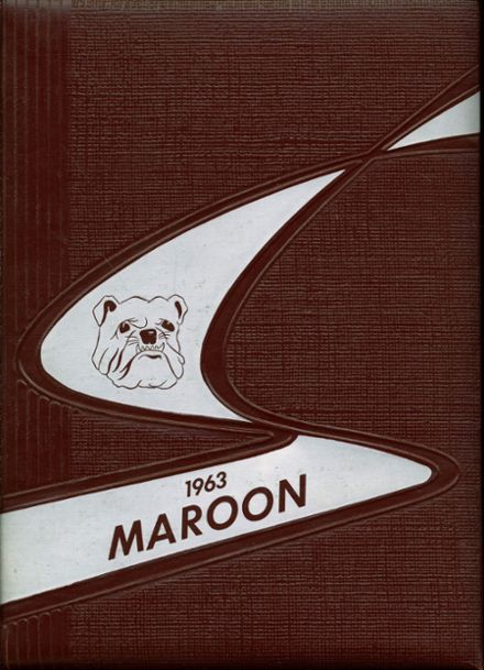 1963 Ogden High School Yearbook Cover