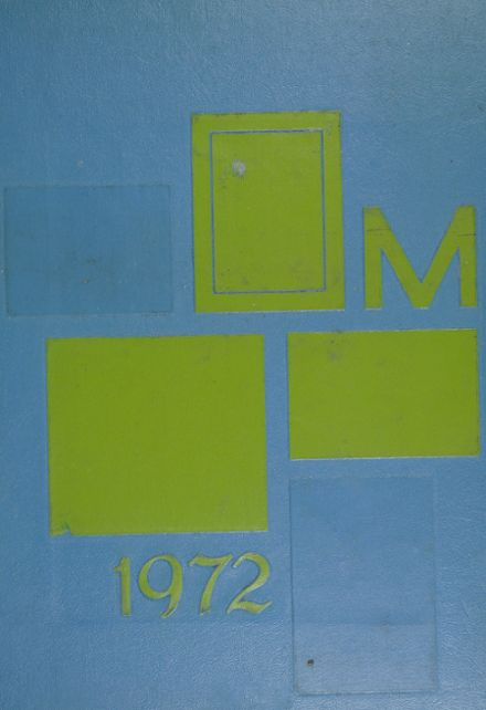 1972 Moline High School Yearbook Cover
