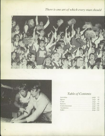 1970 North Kansas City High School Yearbook Page 6