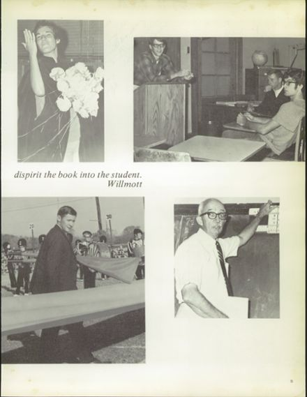 1970 North Kansas City High School Yearbook Page 9