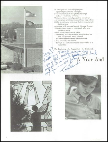 1969 Lincoln Southeast High School Yearbook Page 6