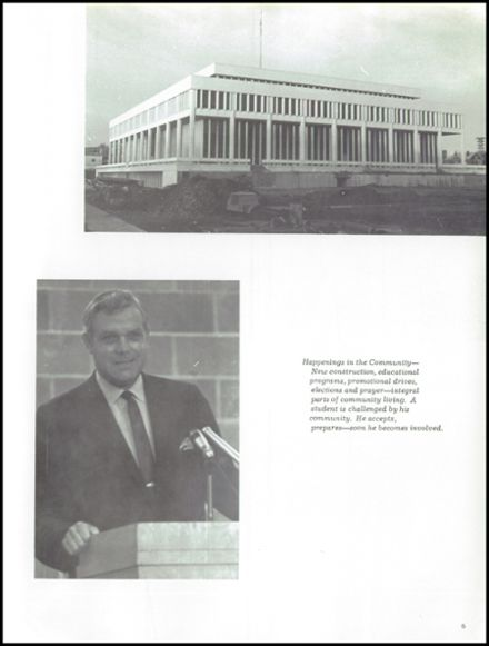 1969 Lincoln Southeast High School Yearbook Page 9