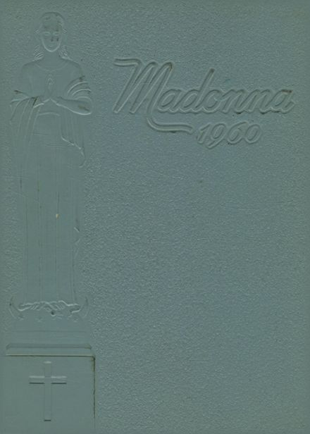 1960 St. Mary's Academy Yearbook Cover