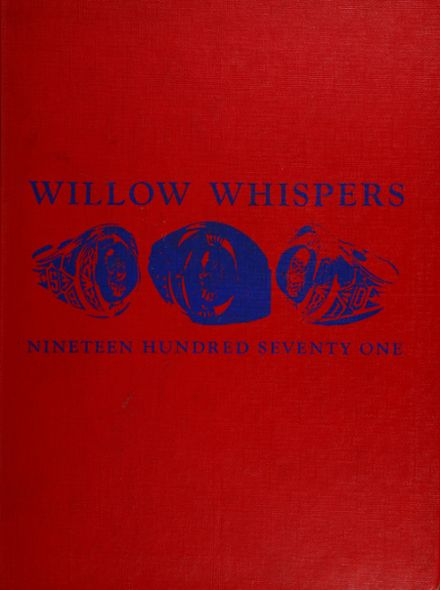 1971 Willow Run High School Yearbook Cover