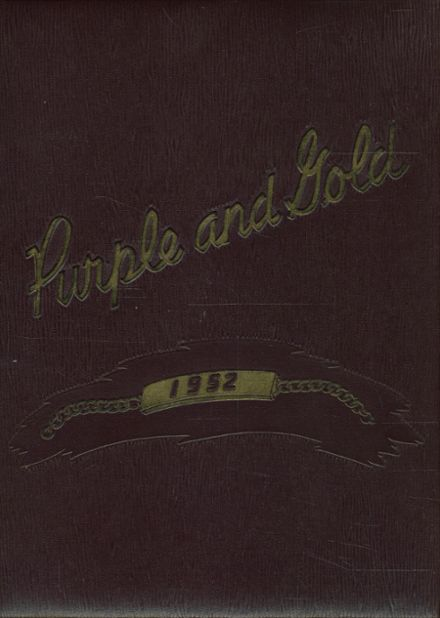 1952 Holdrege High School Yearbook Cover