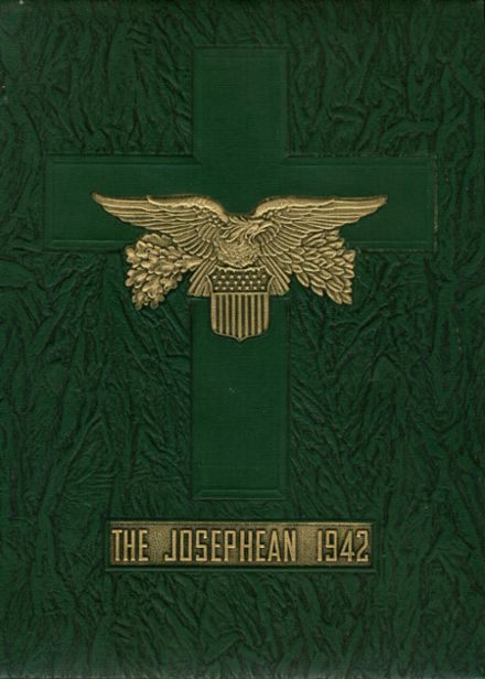 1942 St. Joseph's High School Yearbook Cover