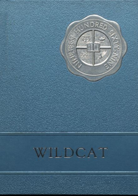 1969 Bethel High School Yearbook Cover
