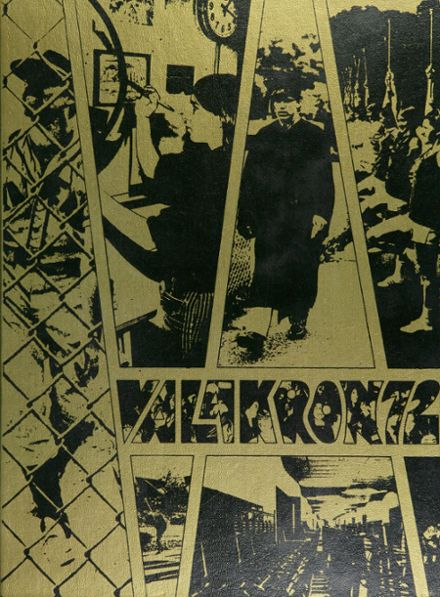 1972 Valley High School Yearbook Cover