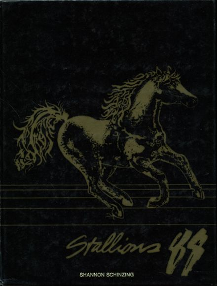 1988 Sterling Heights High School Yearbook Cover