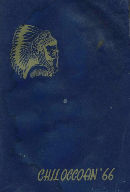 1966 Chilocco High School Yearbook Cover