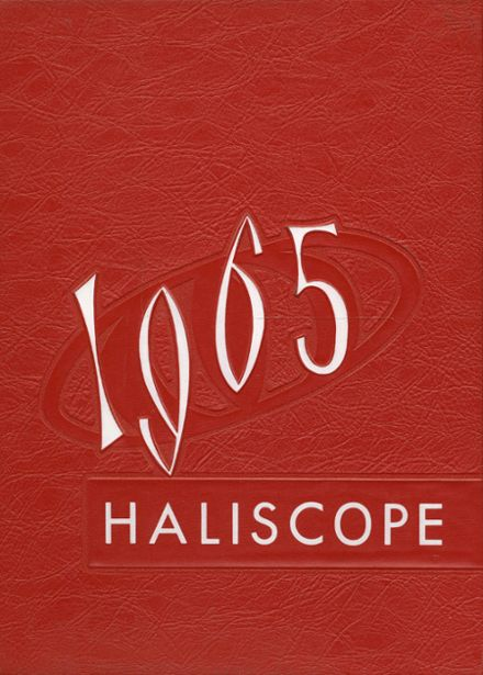 1965 Halifax County High School Yearbook Cover