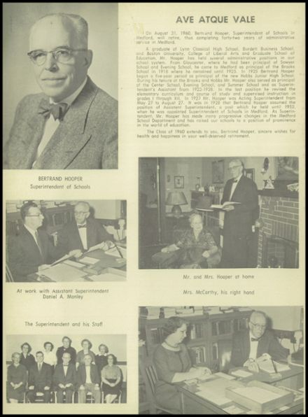 1960 Medford High School Yearbook Page 6