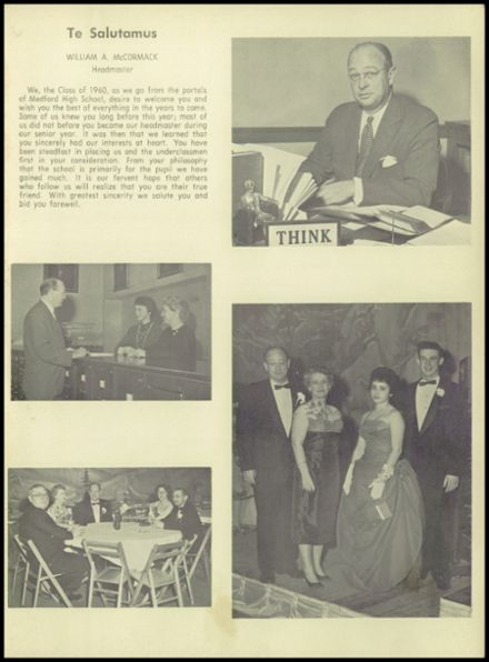 1960 Medford High School Yearbook Page 7
